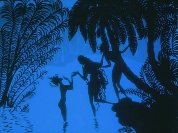 Lotte Reiniger: Prince Achmed (1926)