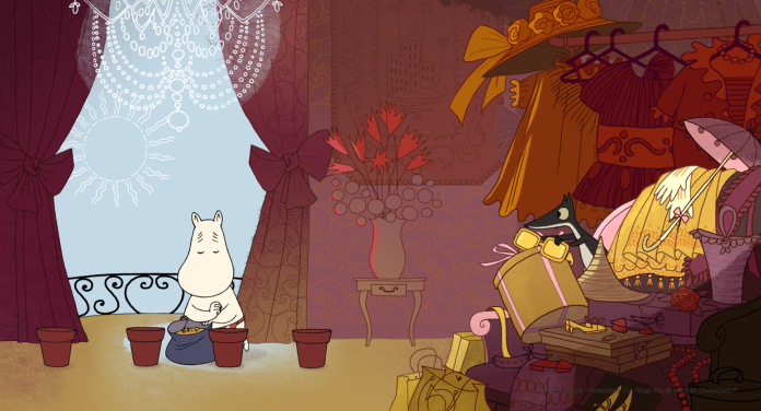 Moomins on the Riviera. © 2012 Handle Productions Oy, Pictak Cie © Moomin Characters™